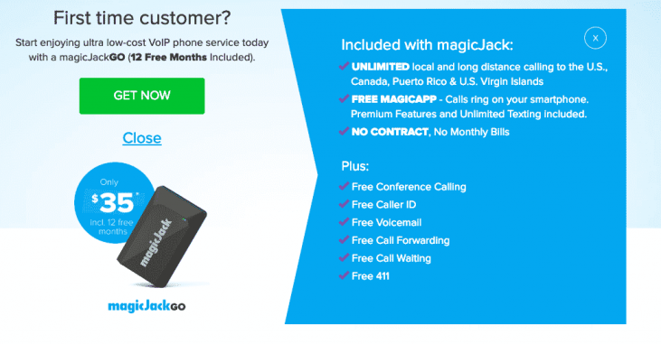 magicJack Canadian Review: Overview, Features & Call Rates