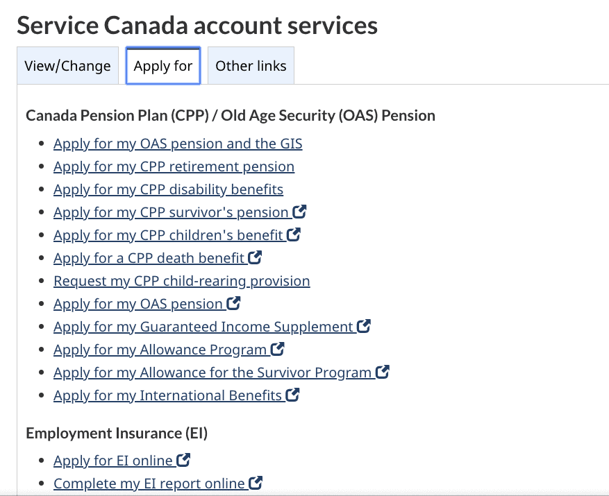 How To Use A My Service Canada Account And Report Ei Online 2020 Personal Finance Freedom