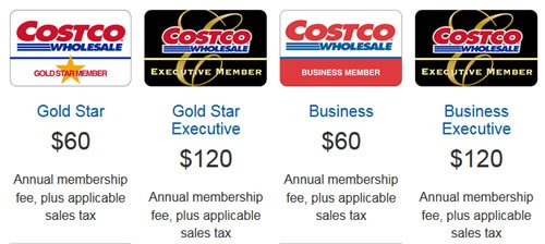 costco executive membership price canada