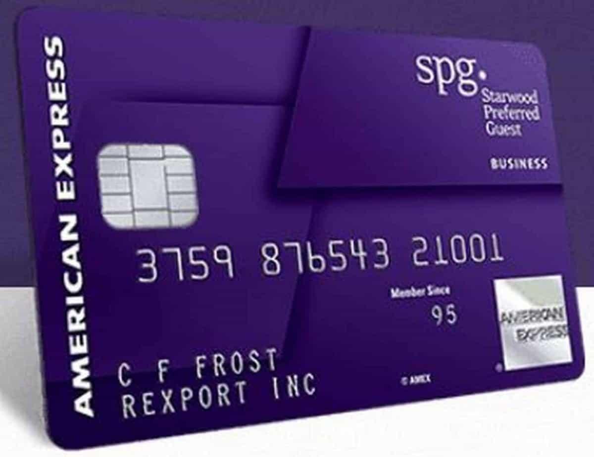 SPG Amex Credit Card