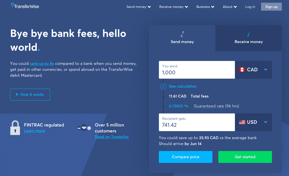 Transferwise Review 2019 Send Money Abroad Paying Low Fees