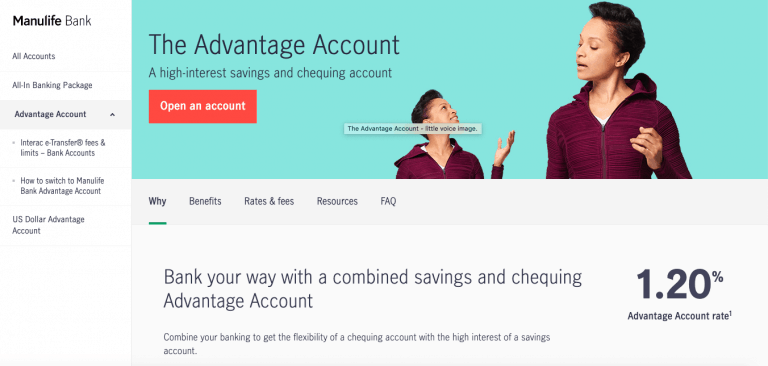 Manulife The Advantage Account