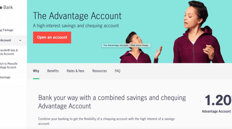 Manulife The Advantage Account
