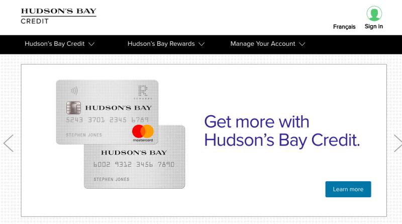 Hudson's Bay Credit Card