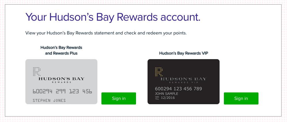 Hudson's Bay Credit Card Comparison