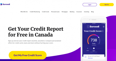 Borrowell Canadian Review – Free Credit Score and Report (2020)