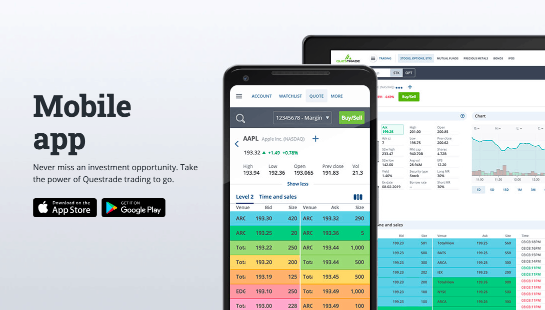 Questrade Mobile App