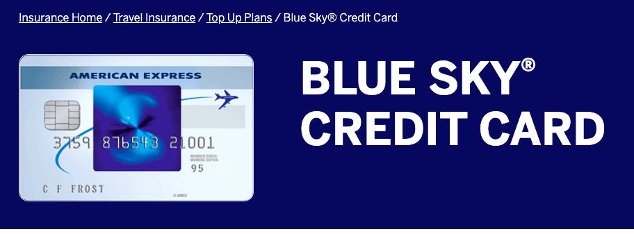 Blue Sky Credit Card