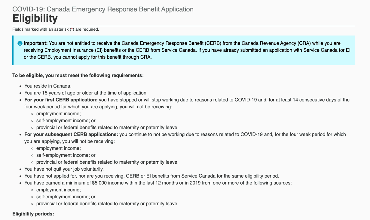 What Is The Canada Emergency Response Benefit Cerb 35 Faqs Personal Finance Freedom
