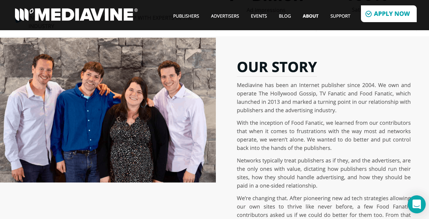 Mediavine Story