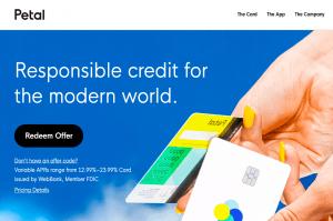 Petal Credit Card