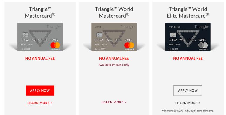 Triangle Mastercard